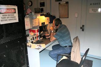 Photo: KC9HYL operating WW2IND