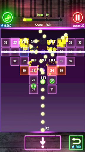 Bricks Breaker Melody apkmr screenshots 2