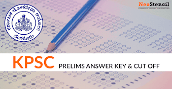 Download KPSC KAS Prelims Answer Key 2017 & KPSC Cut Off