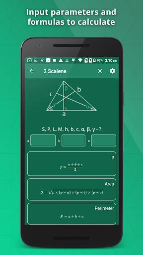 GeometrySoln : Geometry Calculation Solver 1.9 screenshots 3
