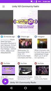 Unity 101 Community Radio- screenshot thumbnail