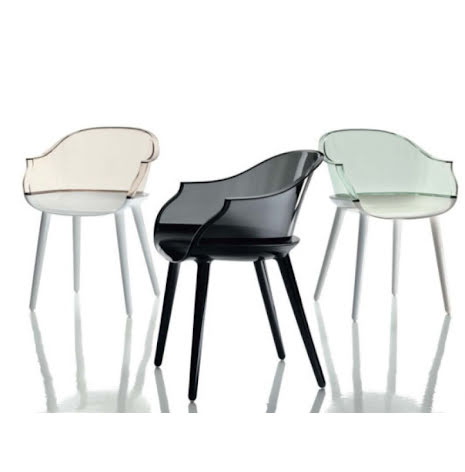 Cyborg chair, glossy