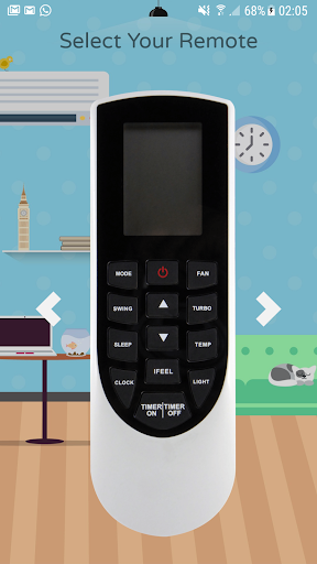 Remote Control For Gree Air Conditioner screenshots 4