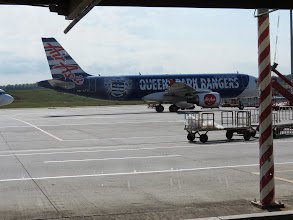 Photo: Colourfull Air Asia Plane