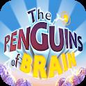 Penguins of brain icon