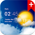 Transparent clock weather (Ad-free) 2.00.20 (Paid)