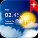 Transparent clock weather Pro icon
