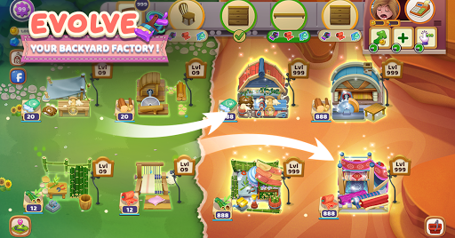 Craftory - Idle Factory & Home Design  captures d'écran 2