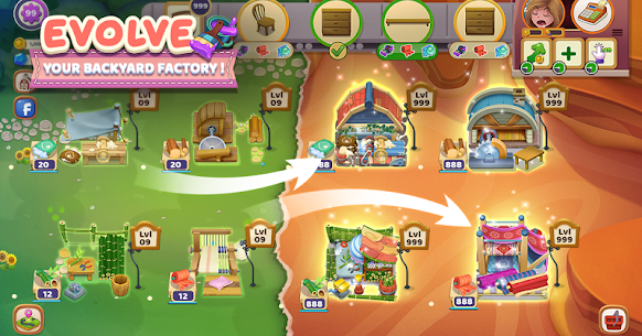 Craftory – Idle Factory & Home Design Mod APK 1.3.4 [No Ads] 2