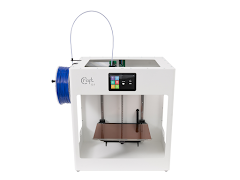 CraftBot Flow White Single Extruder 3D Printer