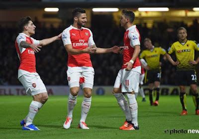 Les surnoms des joueurs d'Arsenal