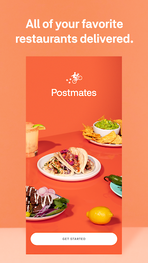 Postmates - Local Restaurant Delivery & Takeout 5.4.5 screenshots 1