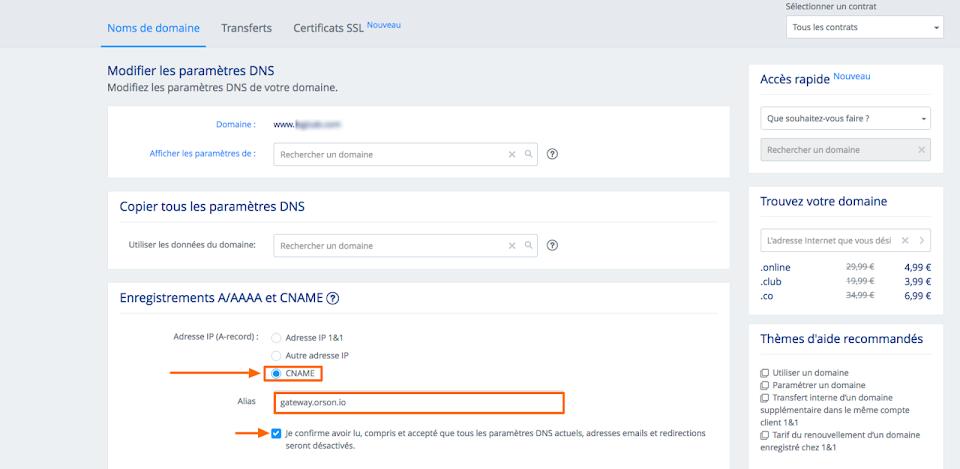 Comment modifier les DNS de mon site pour faire une redirection