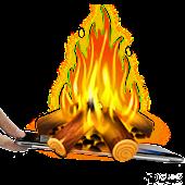 Bonfire animation wallpaper