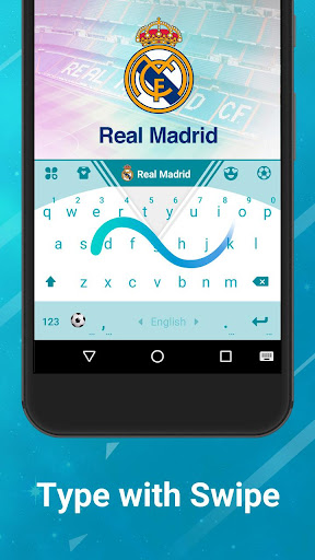 Real Madrid Official Keyboard for PC