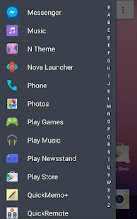Theme for Android N- screenshot thumbnail