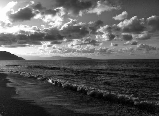 Nuvole sullo stretto di Messina di federicopizzonia