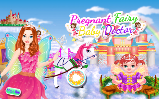 妊娠中の妖精の赤ちゃんのゲーム