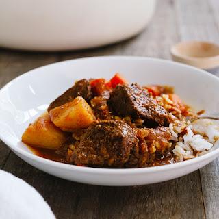Mechado Filipino Beef Stew.