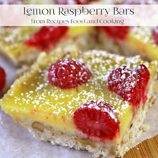 Lemon Raspberry Bars.