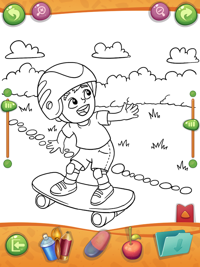 Coloring Book For Creative Kids ColorampDraw