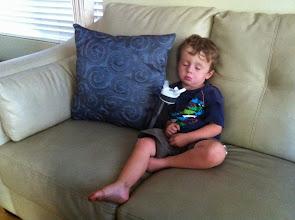 Photo: Finn Sleeps on The Couch
