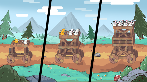 Cat'n'Robot: Idle Defense - Cute Castle TD Game 1.3.1 screenshots 4