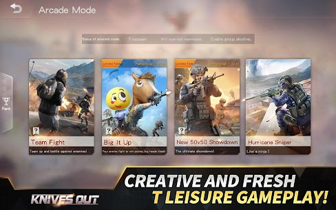 Knives Out-No rules, just fight! 10