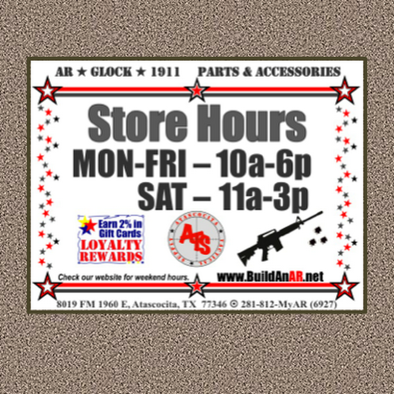 Atascocita Tactical Supply - Sporting Goods Store in Humble