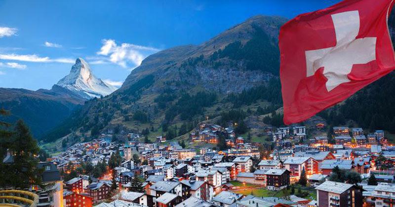 Доставка из Швейцарии