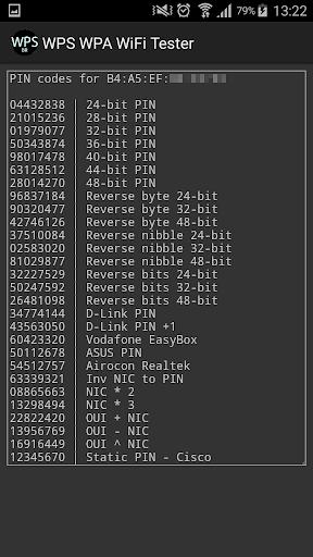 WPS WPA WiFi Tester (No Root) 18.0 screenshots 4