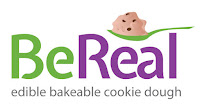 BeReal Edible Bakeable Cookie Dough logo