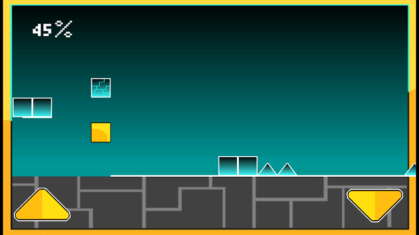 android Geometry Cube Jump Screenshot 0