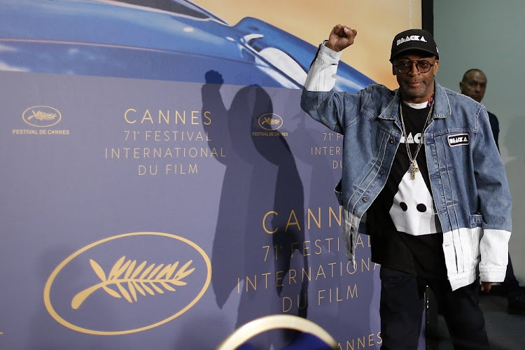 "71st Cannes Film Festival - Conference for the film ""BlacKkKlansman"" in competition - Cannes, France, May 15, 2018. Director Spike Lee arrives."