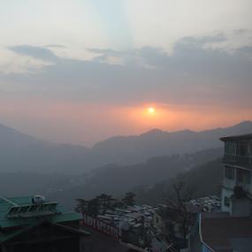 Sunset At Shimla by Som Nath - Landscapes Sunsets & Sunrises (  )