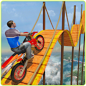 Bike Tricks Trail Stunt Master -Impossible Tracks Android APK Download Free By Level9 Studios