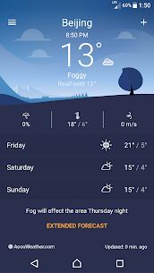 Sony Xperia Weather App 7