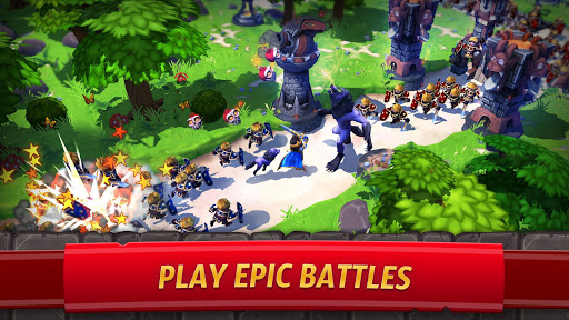 Royal Revolt 2: Tower Defense RTS & Castle Builder screenshots 1
