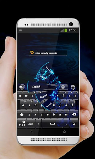 藍色音樂 GO Keyboard