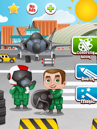 飛行機:子供のための無料ゲーム