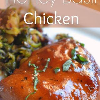 Honey Basil Chicken