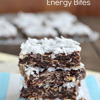 Almond Joy Energy Bites.