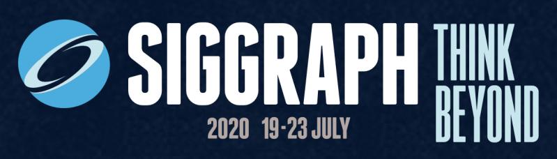 SIGGRAPH 2020 Virtual Conference