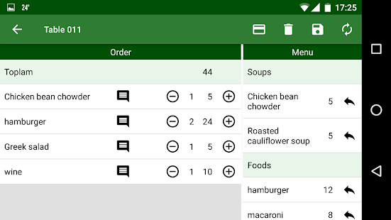 Cafe & Restaurant Order - náhled