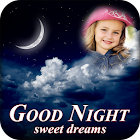Lovely good night photo frames icon