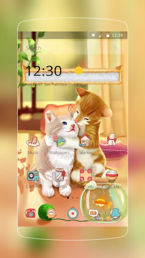 Cartoon Cute Jerry Cat 1.1.8 screenshots 1
