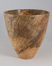 "Photo: Stan Wellborn 8"" x 8"" bowl [maple burl]"