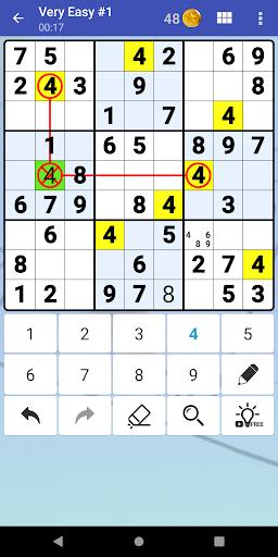 Sudoku Free - Classic Brain Puzzle Game screenshot 3