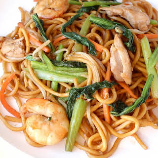 Seafood Stir Fried Noodles Recipes.