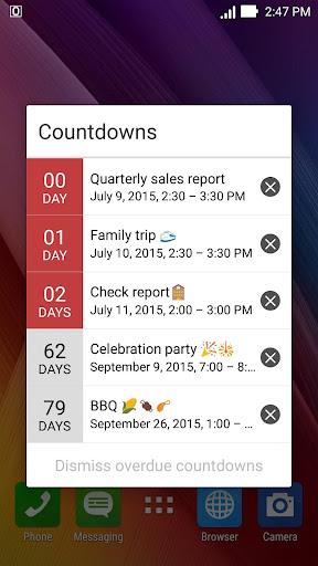 ASUS Calendar screenshot 4